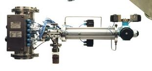 Пробоотборная система для контроля содержания влажности природного газа